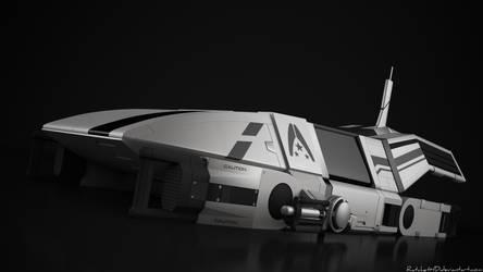 Spacecraft - render 1 by RatchetHD