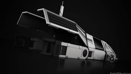 Spacecraft - render 2 by RatchetHD