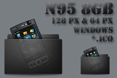 N95 8GB Windows Icons by AMGDesign