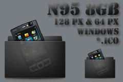 N95 8GB Windows Icons by AMGDesign