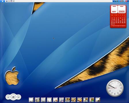 Tiger 'mixed' Desktop