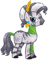 Crystal Zecora by CloudyGlow