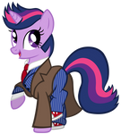 Twilight Sparkle as the 10th Doctor