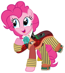 Pinkie Pie as the 6th Doctor