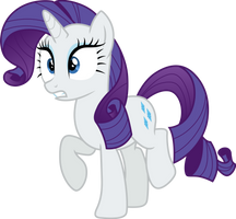 Rarity meets Fashion Plate by CloudyGlow