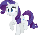 Rarity meets Fashion Plate