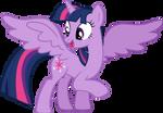 Twilight Sparkle happy