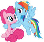 Pinkie and Dash