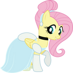 Fluttershy as Cinderella