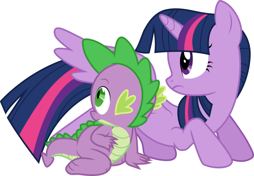 Mlp twilight sparkle and spike