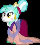 Lyra Heartstrings as Mulan