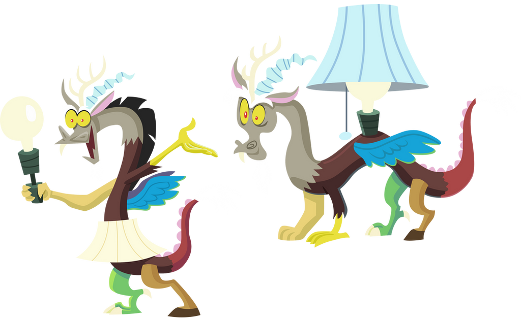 Discord lamps by CloudyGlow