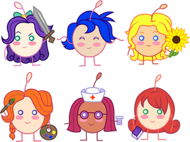 Junimo Bachelorettes by CloudyGlow