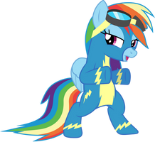Wonderbolt Dash by CloudyGlow