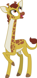 Clementine the Giraffe by CloudyGlow