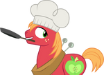 Big Mac cooking