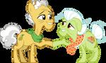 Grand Pear and Granny Smith