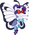 Rarity as Butterfree