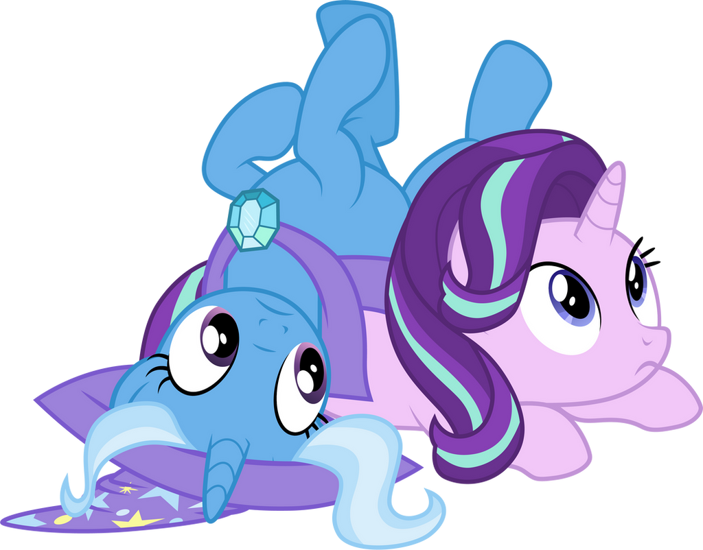 trixie_and_starlight_glimmer_by_cloudygl
