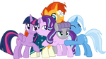 Starlight Glimmer and friends