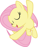 Fluttershy flying and singing