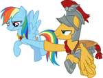 Rainbow Dash and Flash Magnus