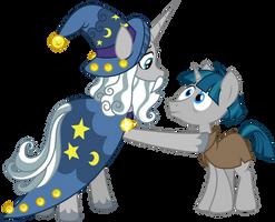 Starswirl and Stygian by CloudyGlow