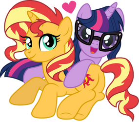 Sunset and Twilight by CloudyGlow