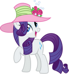Rarity in a pink hat