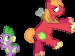 Spike and Big Mac dancing