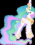 Unhappy Princess Celestia