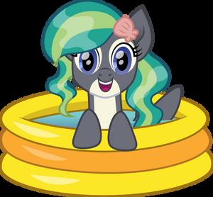 Marina in a pool
