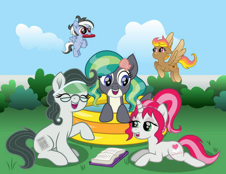 Pacific Ponies at the Park