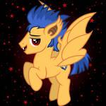 bat pony Flash Sentry