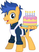 Happy Birthday from Flash Sentry by CloudyGlow