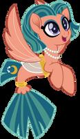 Somnambula sea pony by CloudyGlow