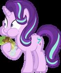 Starlight Glimmer eating