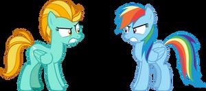 Lightning vs Rainbow