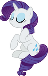 Rarity sitting pretty