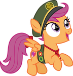 Filly Scout Scootaloo