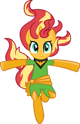 Sunset Shimmer as Phoenix by CloudyGlow