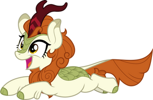 Leaping Autumn Blaze by CloudyGlow
