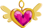 Pink Heart of Courage