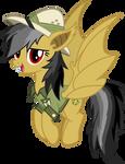Daring Do bat pony