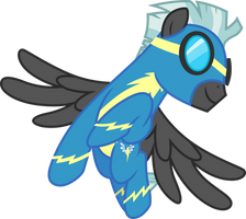 Flying Thunderlane by CloudyGlow