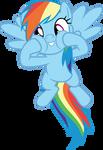 Rainbow Dash squishy cheeks