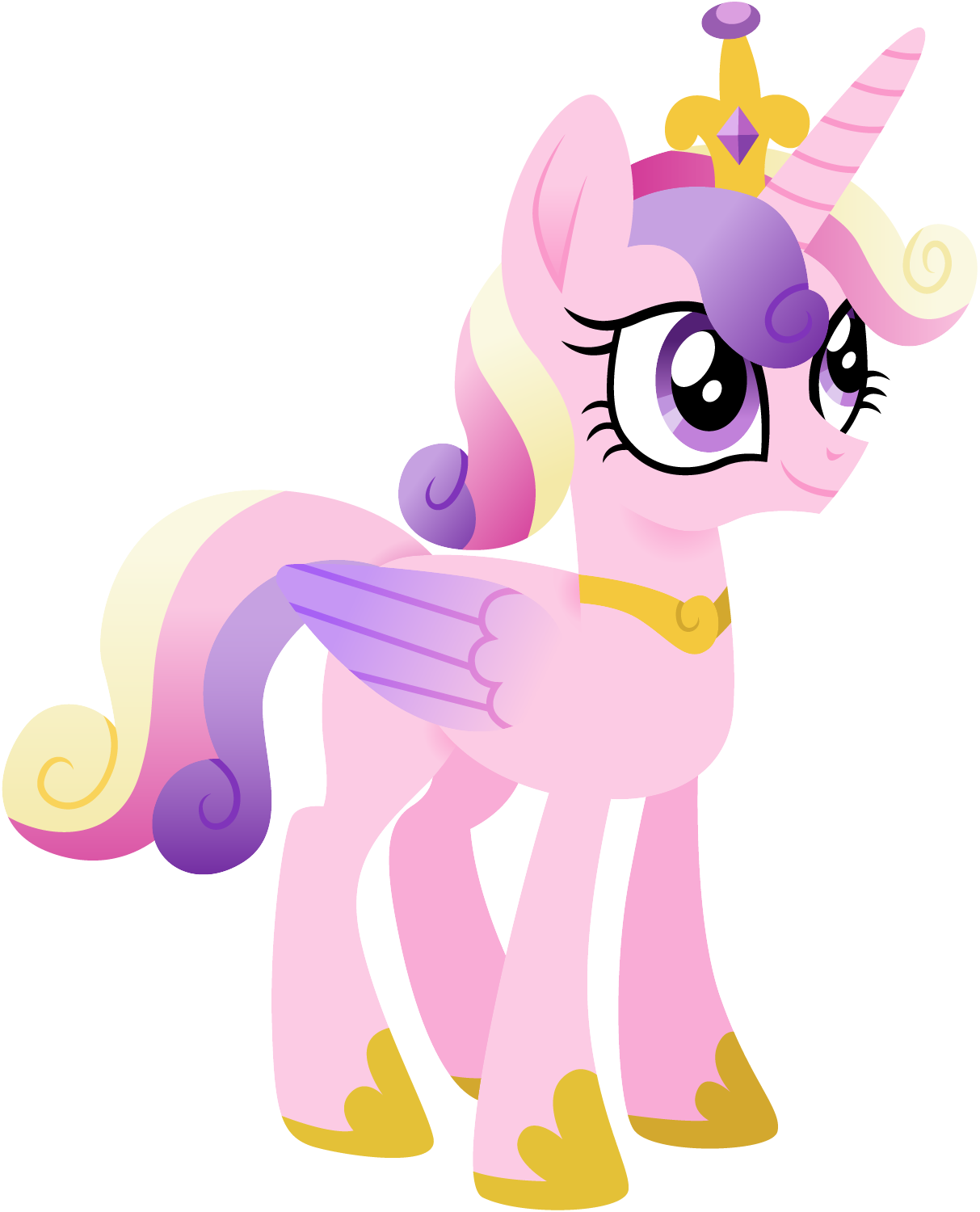 Short Haired Cadance by CloudyGlow