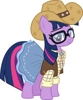 Cowgirl Sci-Twi by CloudyGlow