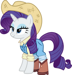 Cowgirl Rarity by CloudyGlow