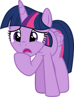 Concerned Twilight Sparkle by CloudyGlow